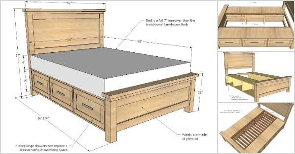 25 Creative DIY Bed Projects With Free Plans I Creative