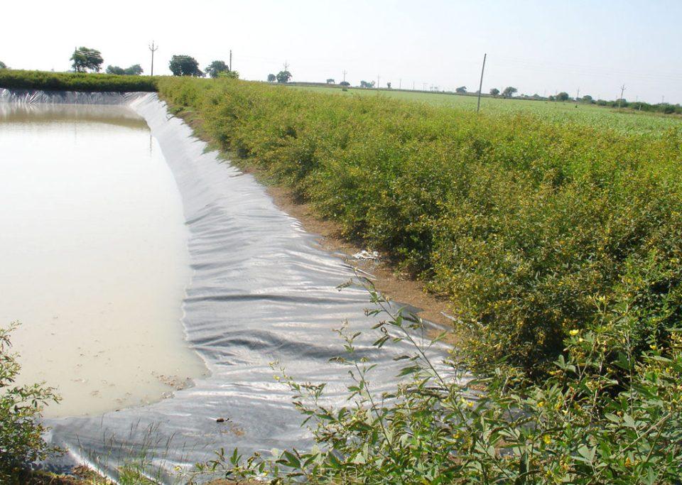 Rain water harvesting structure in Akola, Maharashtra. Photo: S Kumar, ICRISAT