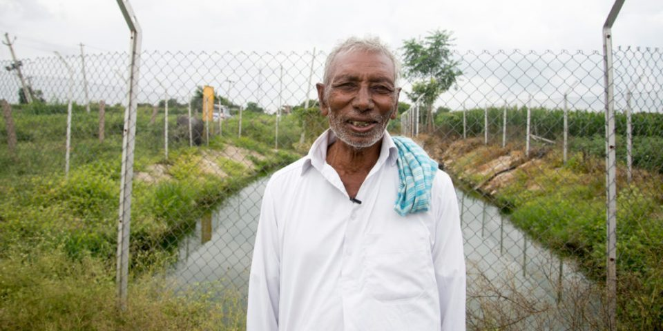 Minimizing health risks, decentralized domestic wastewater treatment units like this one in Kothapally, India, is a sustainable solution for food and water insecurity. Photo: S Punna, ICRISAT