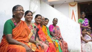 Members of the women's self help group
