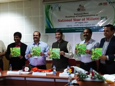 Release of the Hindi recipe book