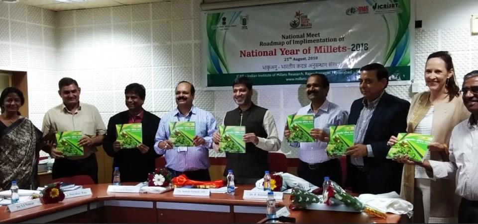 Release of the Hindi recipe book