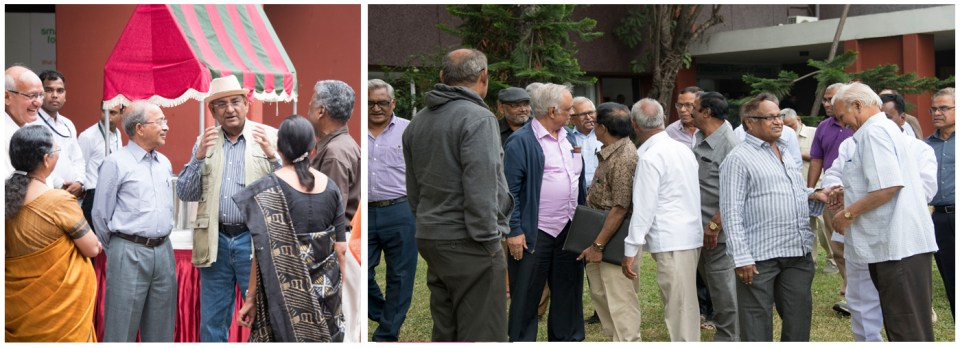 The alumni meet was attended by more than 100 members along with their families. Photo: S Punna, ICRISAT
