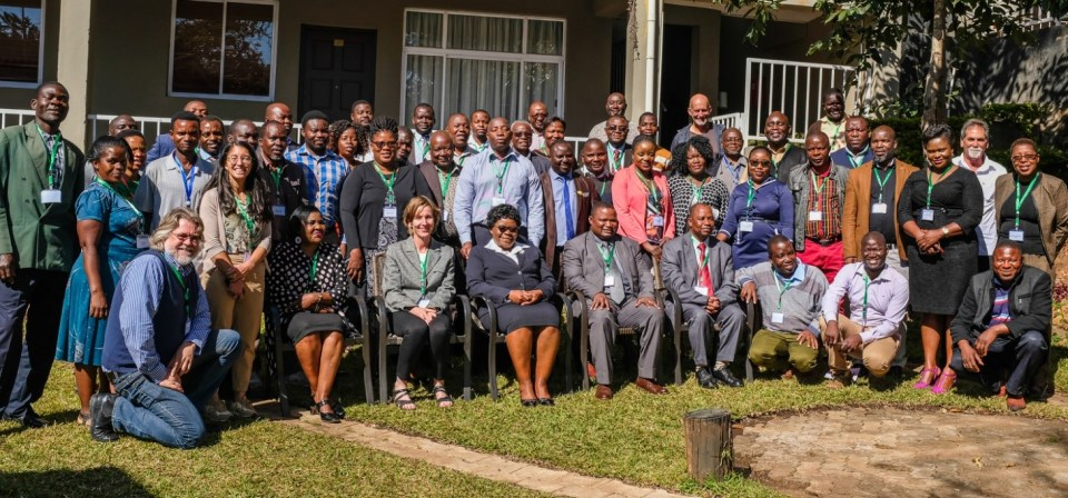 Participants at the CLIM2 Policy Dialog on Shaping Agri-food Value Chains for Nutrition and Health in Malawi Photo: Andre van Rooyen