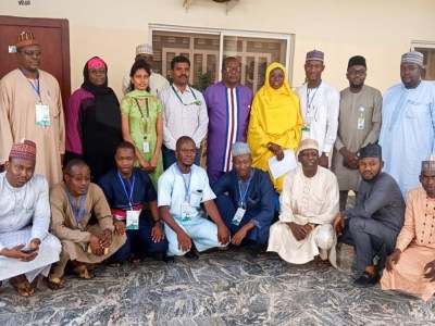 Participants of the international course on remote sensing, at the Centre for Dryland Agriculture, Bayero University (CDA-BUK), Kano. Photo: CDA-BUK