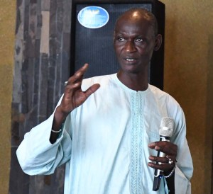 Dr Abdou Ndiaye, Scientific Director ISRA