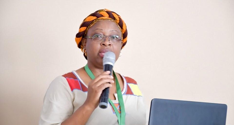 Dr Esther Njuguna, Senior Gender Scientist, ICRISAT ESA. Photo: ICRISAT