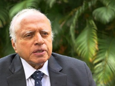 MS Swaminathan, is an ICRISAT Ambassador of Goodwill and a Founding Father of the institute. Photo: S Punna, ICRISAT