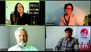 A screenshot of the participants at the GLFLive Q&A session.