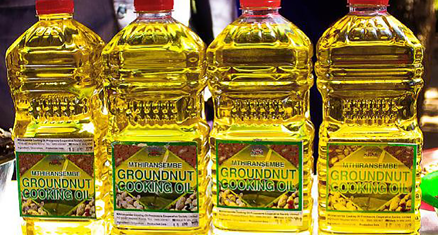 Cooking oil produced and packaged by Mthirasembe farmers cooperative Photo: MSIDP
