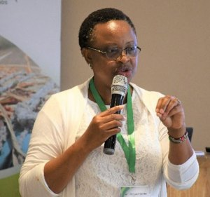Dr Esther Njuguna spearheading the launch of the Seed Revolving Fund, Youth Egnagement and Gender Inclusion (SRF-YEGI) initiative in Tanzania.