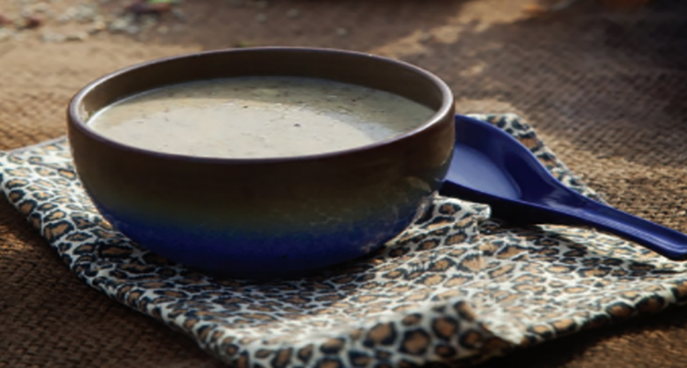 A soup preparation from millets. Photo: ICRISAT