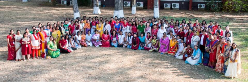 International Women's Day celebrations at ICRISAT. Photo: ICRISAT