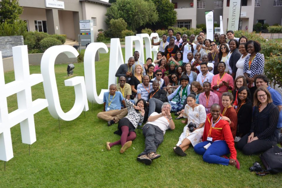 Participants of the social media boot camp. Photo: GCARD3