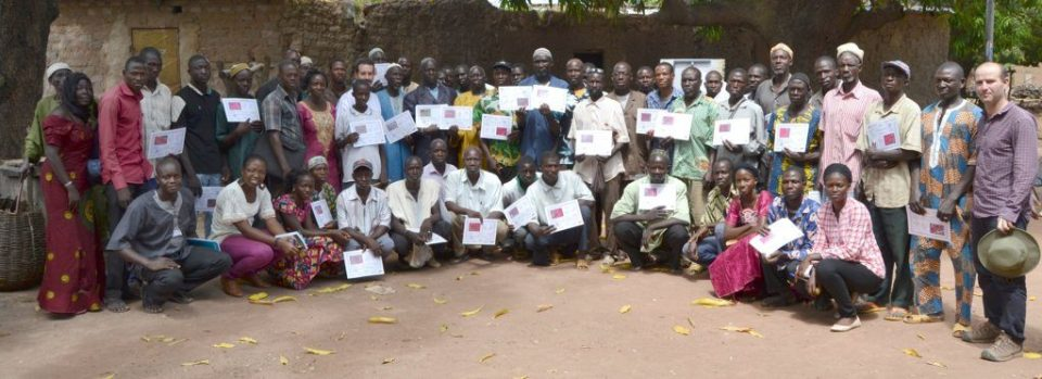 Fertility trials restitution event, Sukumba (Mali) held 10/30/2015 by the STARS project
