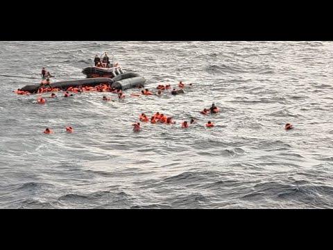 """Naufragio di 100 persone nel Mediterraneo. ASGI al Governo: """"Inaccettabile continuare a punire invece di rafforzare i soccorsi"""""""