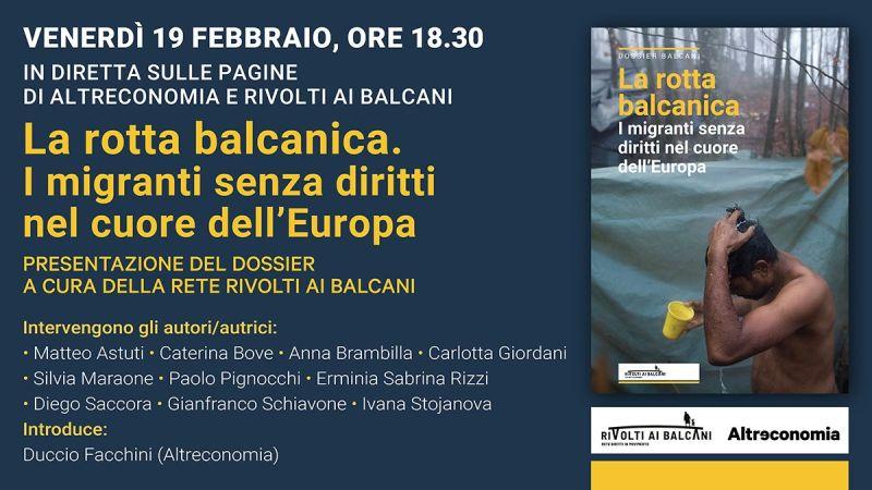 I migranti senza diritti nel cuore dell'Europa – evento facebook