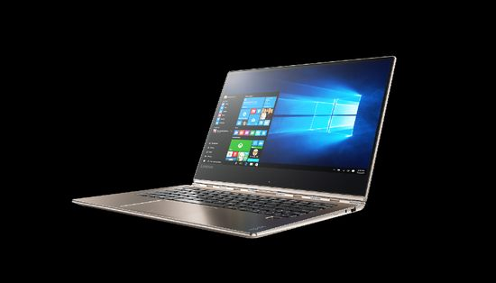 Yoga 910 convertible in gold