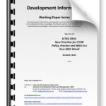16 New Priorities for ICT4D Policy and Practice in a Post-2015 World