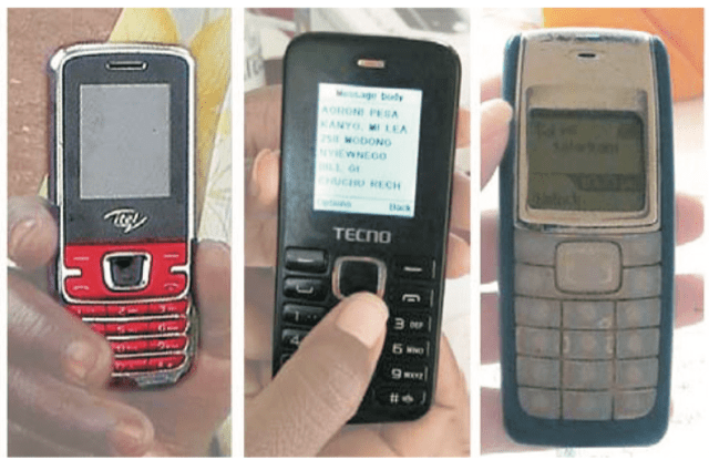 old mobile phones kenya