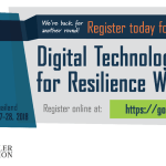 Please RSVP Now: Digital Technologies for Resilience Workshop