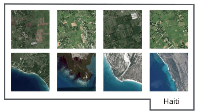 neural networks to process satellite imagery