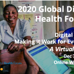 Please Submit Your Session Ideas for Global Digital Health Forum 2020
