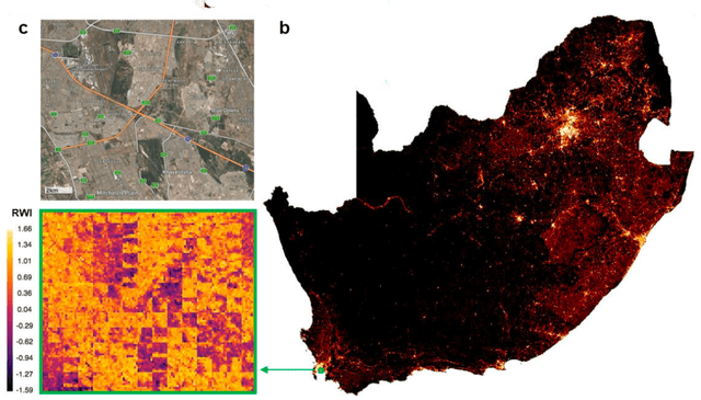south africa poverty map