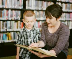 Teacher and a student