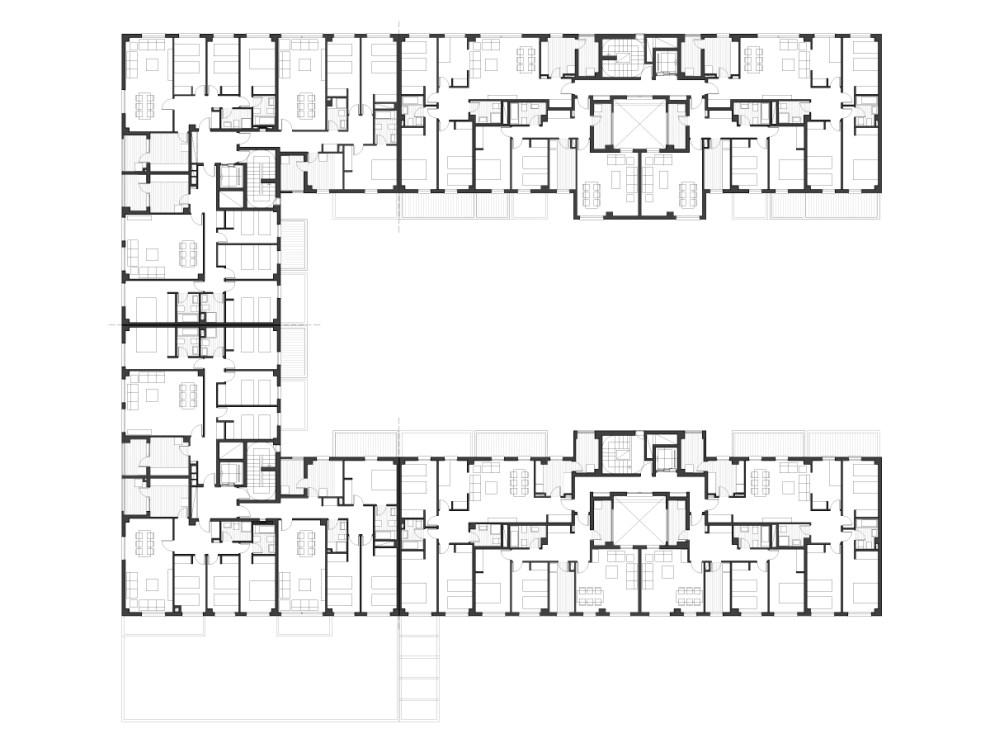 I&D arquitectos - Vivienda colectiva CH 11