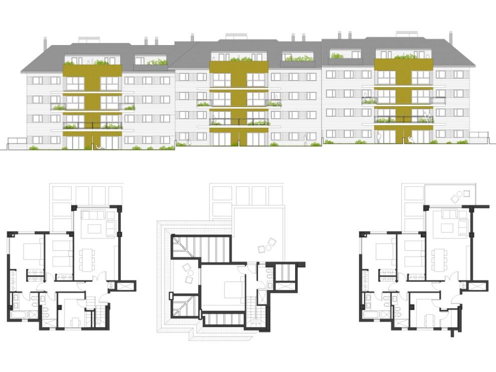 I&D arquitectos - Vivienda colectiva CPA 19