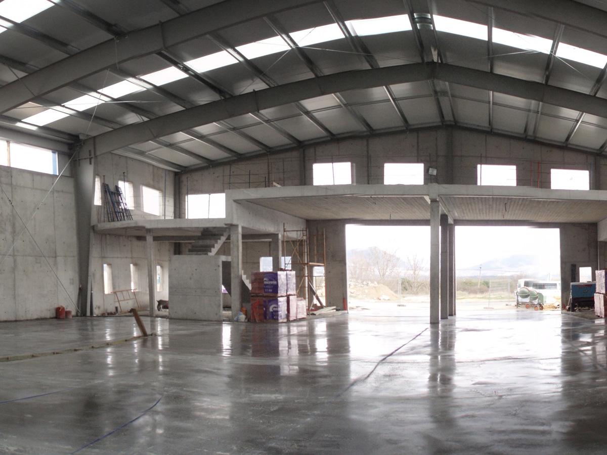 I D Arquitectos Nave Industrial Cdp Guadarrama