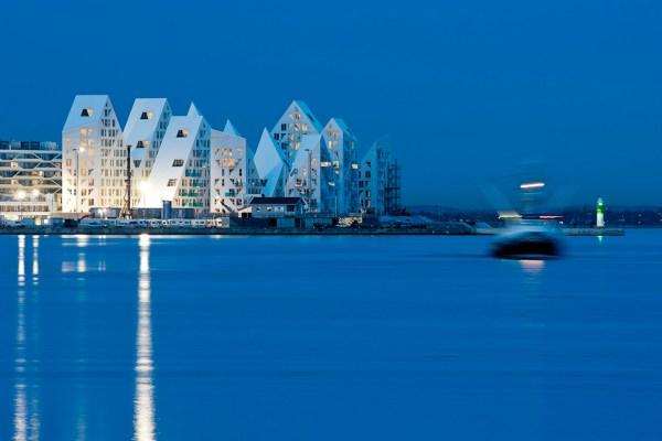 Isbjerget, dusk twilight