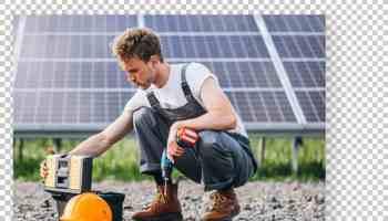 Exemple installation panneaux solaires résidentiels