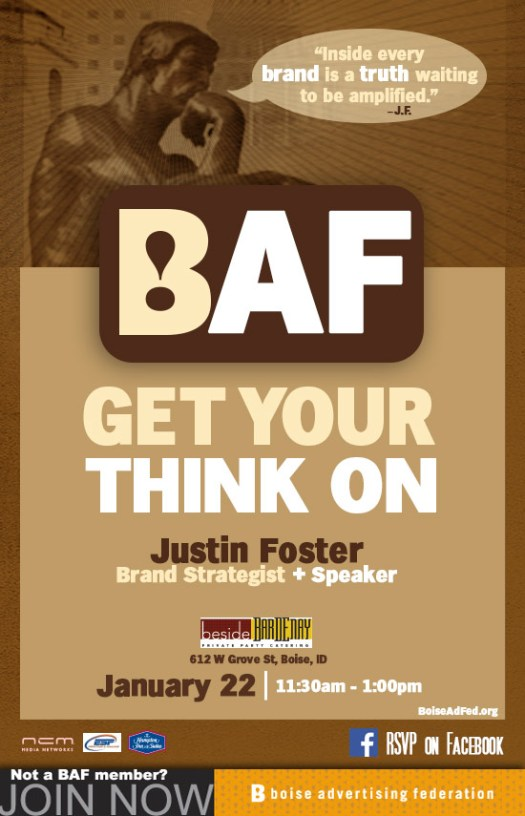 BAF Lucheon - Justin Foster