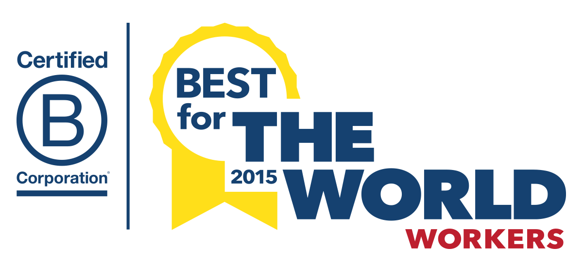 2015 Best for the World for Workers
