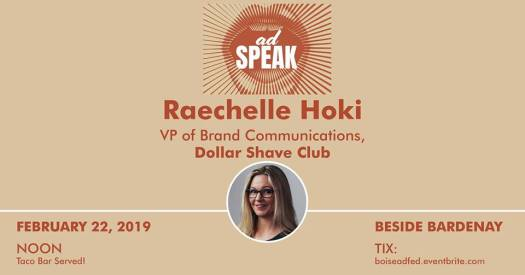 adSPEAK featuring Raechelle Hoki