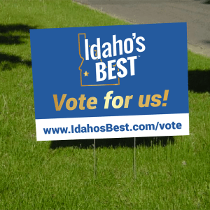 Vote For Us Yard Sign