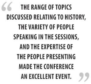 2013 Idaho's Heritage Conference - quotes