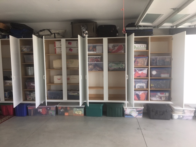 Meridian Idaho Garage Cabinet Solution
