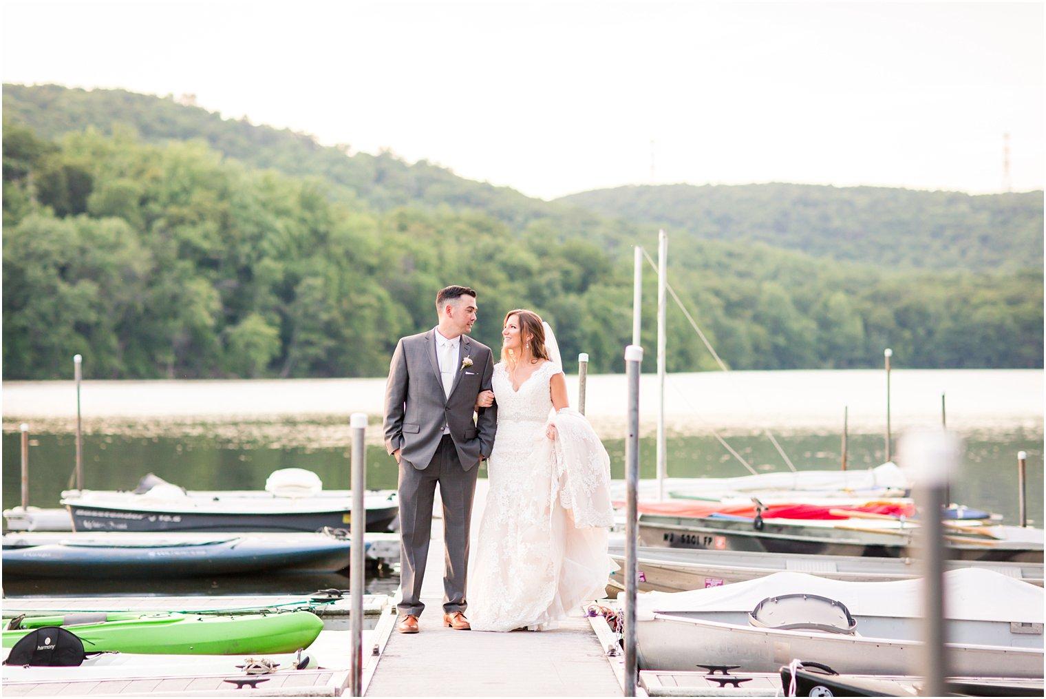 Lake Valhalla Club Wedding Photos Montville NJ Photographer
