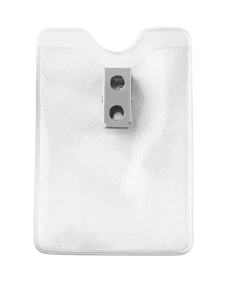 Vertical Badge Holder Top Load w/Clip