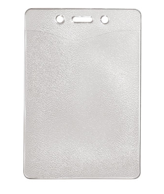 Vertical Top Load Slot-Chain Holes Badge Holder, 3.18″ x 4.78″Box of 100