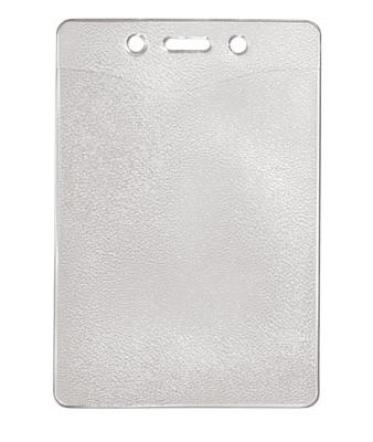 Vertical Top Load Slot-Chain Holes Badge Holder