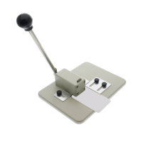 Light/Medium Duty Slot Punch, Ergonomic Design