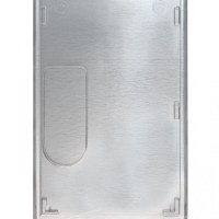 Vertical Shielded Badge Holder Rigid Plastic