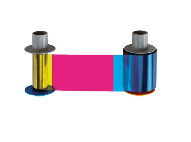 Fargo HDP5600 YMCKK Full Color w/ Black Resin Ribbon