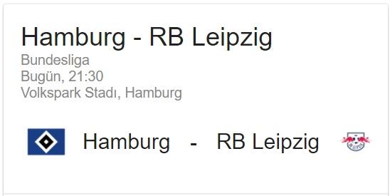 8 Eylül 2017 Hamburg-Leipzig Almanya Bundesliga 1 iddaa Analiz