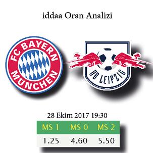 Bayern Münih - RB Leipzig maçı iddaa oranları ve maç tahmini
