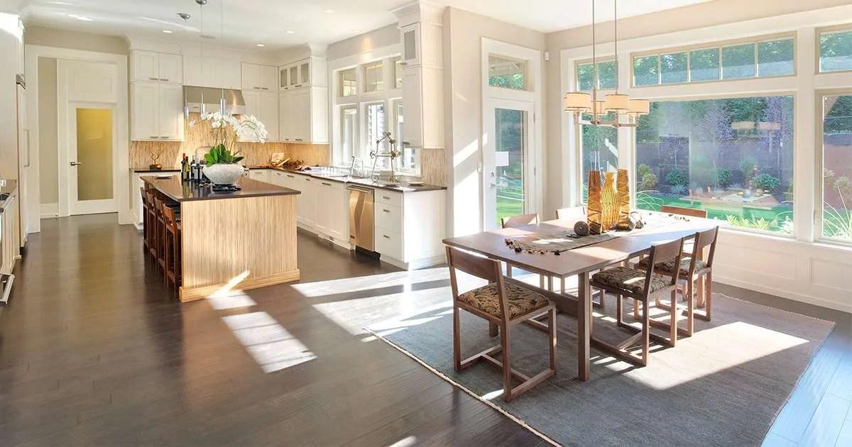 soggiorno regole per combinare i colori nell'interno del soggiorno decorazione della finestra nel soggiorno: Idee Per Ottimizzare Gli Spazi Con L Open Space Idea Casa Plan